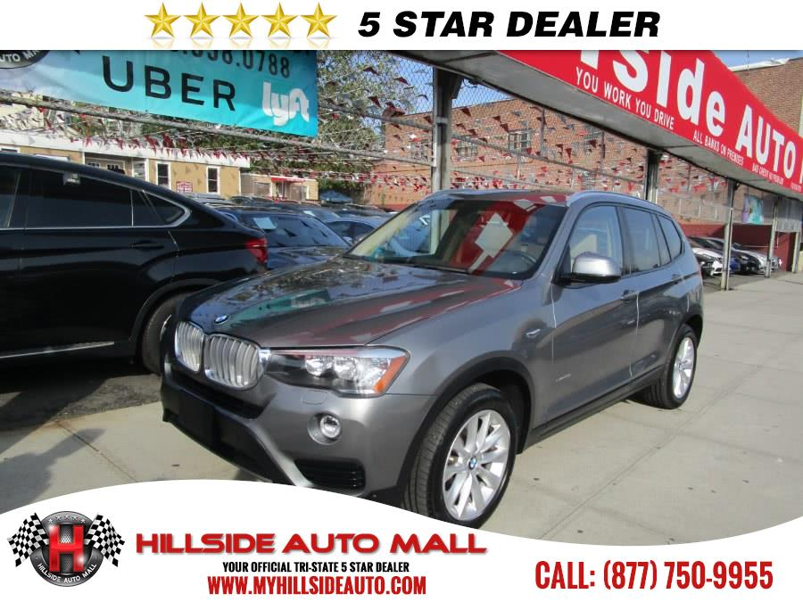 2015 BMW X3 AWD 4dr xDrive28i Hillside Auto Mall is the car shopping destination for Long Island