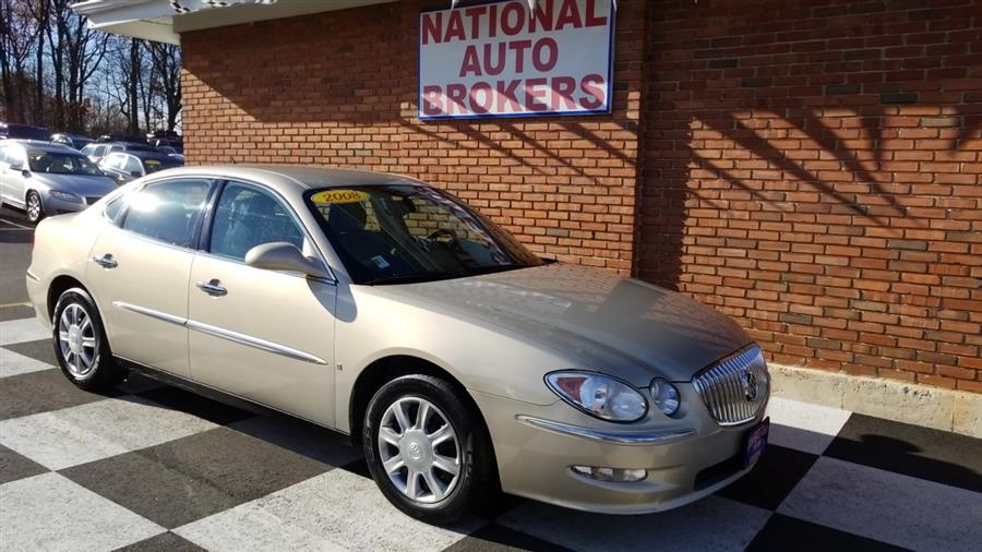 ... CLEAN AUTO HISTORY *** NICE CAR!! ***Gold Mist Metallic 2008 Buick  LaCrosse CX FWD 4 Speed Automatic With Overdrive 3.8L V6 SFI 28/17 Highway/ City MPG