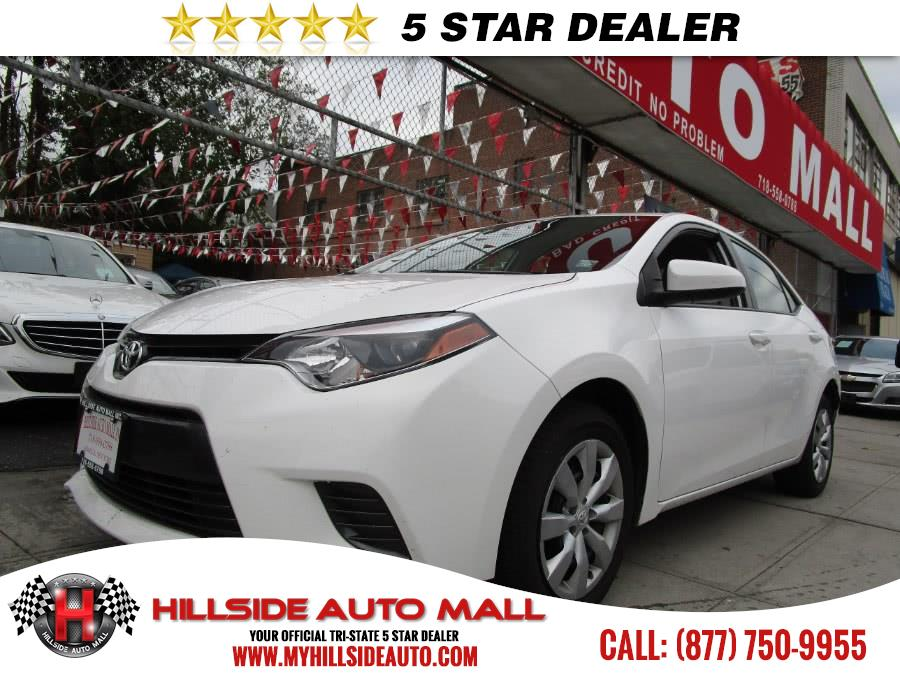 2016 Toyota Corolla 4dr Sdn CVT LE Plus Natl Hi folks thank you for taking the time out of your