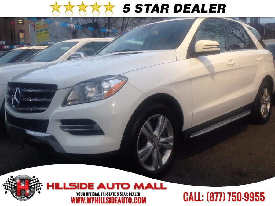2014 MERCEDES M-Class 4MATIC 4dr ML350 CARFAX ONE OWNER NAVIGATION   Hillside Auto Outlet is the