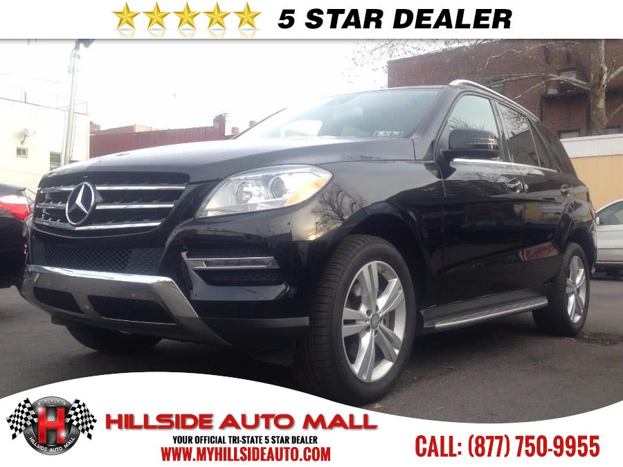 2013 MERCEDES M-Class 4MATIC 4dr ML350 CARFAX ONE OWNER NAVIGATION LIKE NEW CONDITION  Hillside