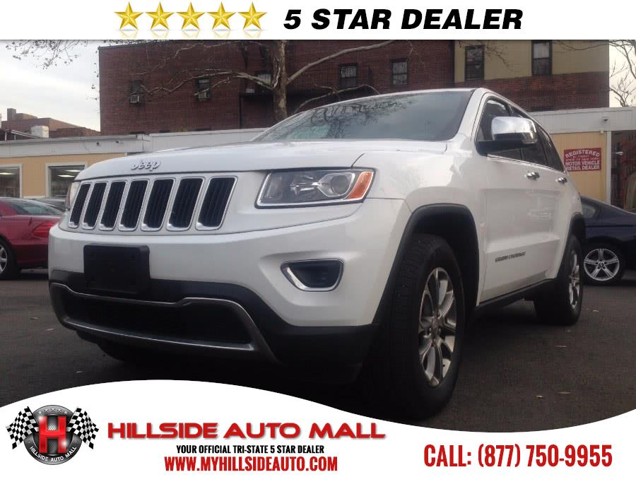 2015 Jeep Grand Cherokee 4WD 4dr Limited Hillside Auto Outlet is the car shopping destination for