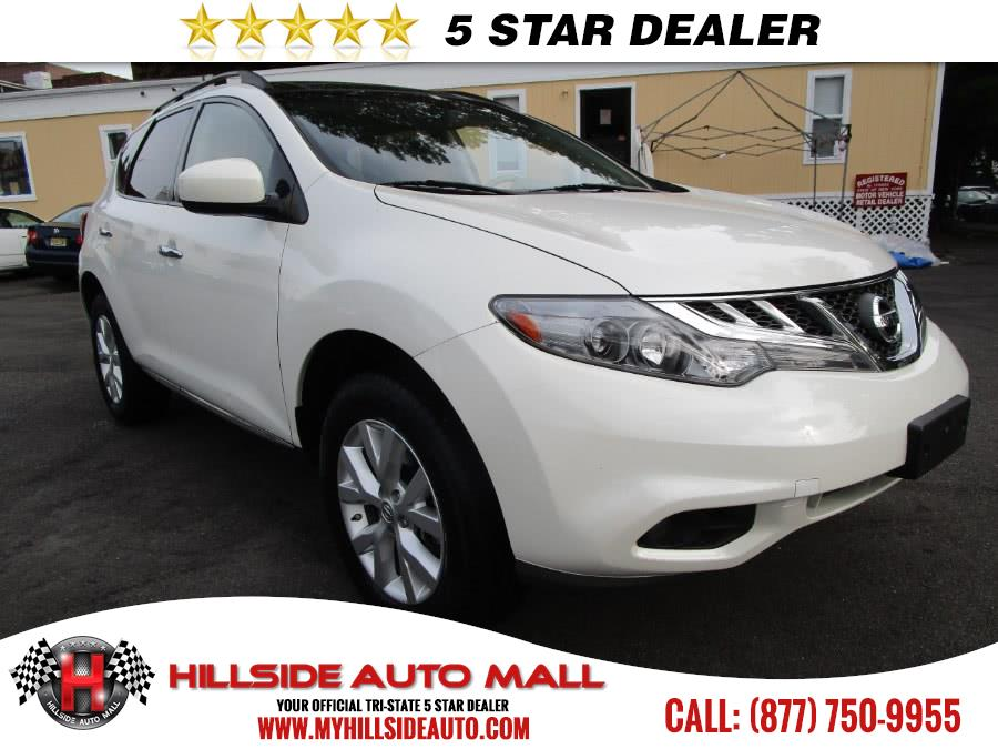 2014 Nissan Murano AWD 4dr SL Hillside Auto Outlet is the car shopping destination for Long Island
