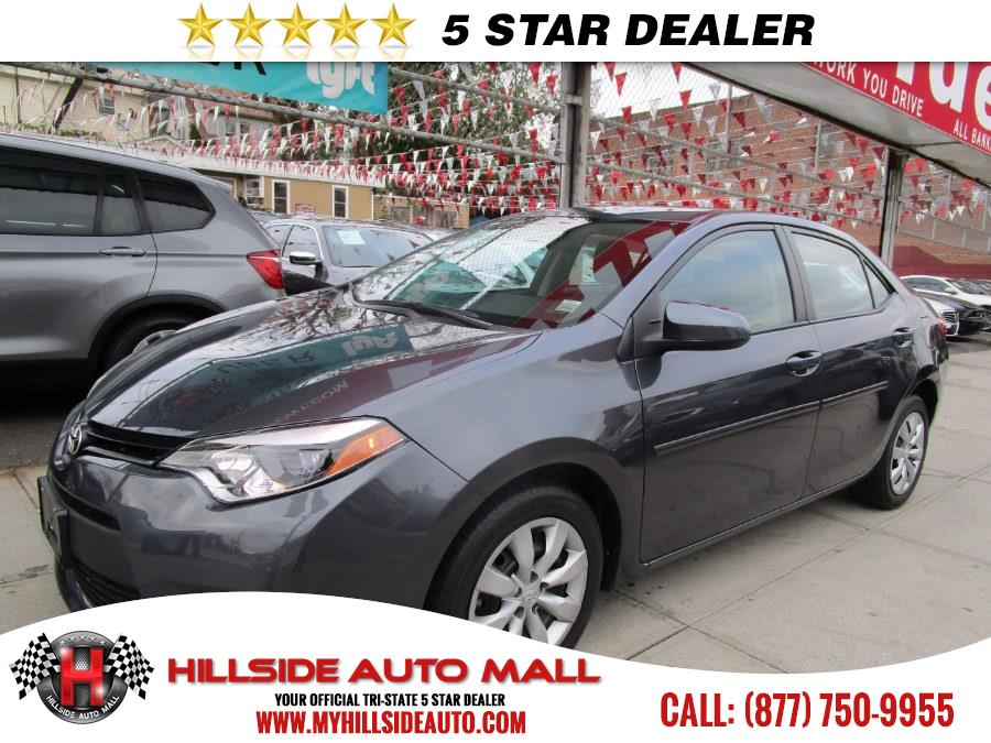 2014 Toyota Corolla 4dr Sdn CVT LE Natl As low as 40week Mint condition Special Deal Now  H
