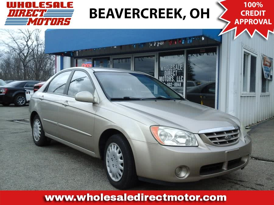 2006 Kia Spectra Ex In Dayton Oh Used Cars For Sale On